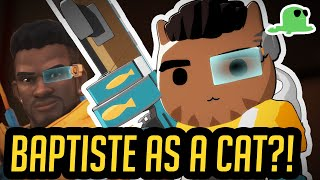 NEW HERO Baptiste as a CAT? - CATISTE - Overwatch Cats