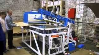 Печать БОЛЬШОЙ упаковки трафаретом с УФ-сушкой