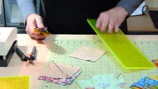 How to use some delicious leftovers to make half square triangles - Quilting Tips & Techniques 124