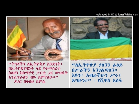 Interview With Dr Bezabih Demissie And Yeshiwas Assefa