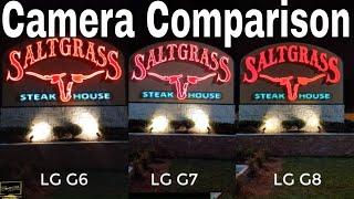 LG G8 Vs LG G7 Vs LG G6 Camera Comparison 2019 | Are The Cameras Better?? | SHOCKING RESULTS !!!!