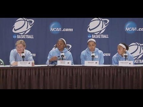UNC Women's Basketball: South Carolina Postgame Press Conference