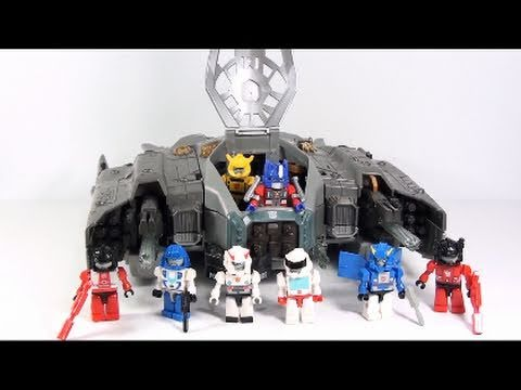 Video Review of the Transformers 3 Dark of the Moon (DOTM) ; Autobot Ark