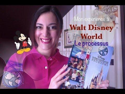 ✒︎Travailler à Disney World, mon expérience : Le processus