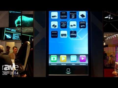ISE 2014: Black Box Demonstrates iCOMPEL Interactive Digital Signage Platform