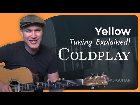 How to play Yellow by Coldplay (Guitar Lesson SB-124)