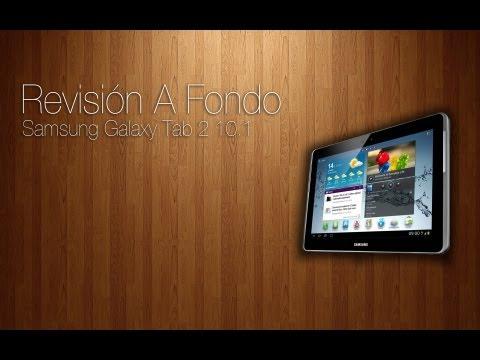 Revisión a fondo - Samsung Galaxy Tab 2 10.1