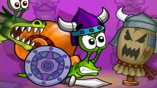 Snail Bob 2. Fantasy Story. Complete Walkthrough Levels 1 - 30. All Stars and Puzzles