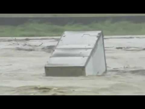 Typhoon Roke triggers floods across Japan Nagoya