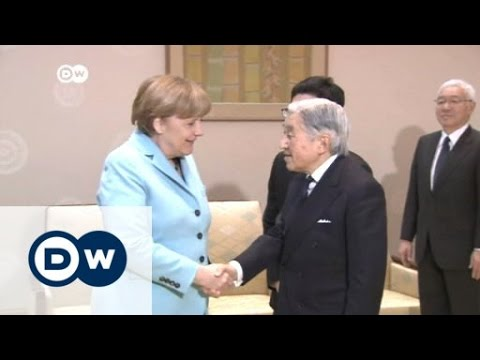 Merkel auf Kurzbesuch in Japan | Journal