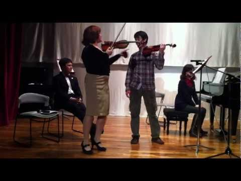 Mrs. Alexandra Mak 's Violin Recital and violin master class小提琴大師班