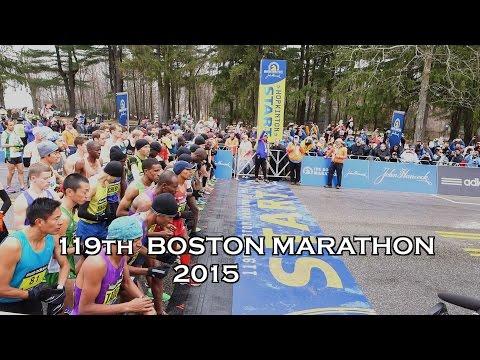 119th Boston Marathon 2015 Hopkington 26.2 miles Lelisa Desisa Wins