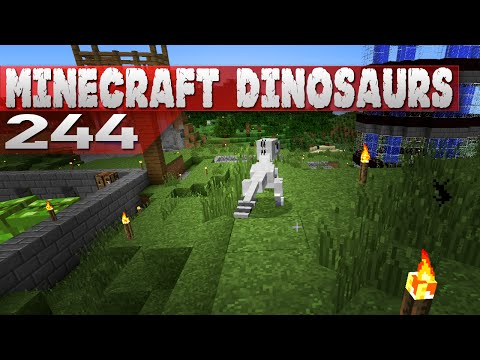 Minecraft Dinosaurs Episode 244 Dont Run Away