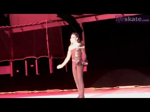 Johnny Weir performs Bad Romance at 2010 Ice Theatre of New York home season gala