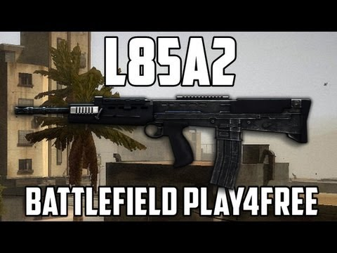 Battlefield Play4free L85A2 Gun Review