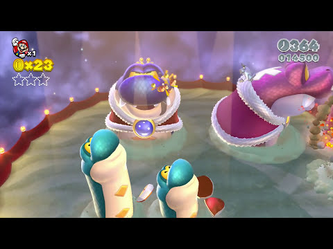 Let's Play Super Mario 3D World - World 11 Boss Blitz