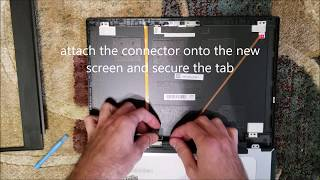 Laptop screen replacement / How to replace laptop screen [Lenovo E480]