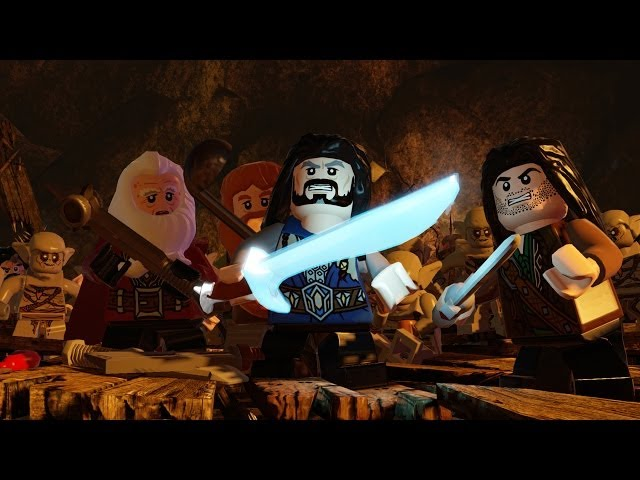 LEGO The Hobbit Gameplay Walkthrough Part 1 - The Goblin King - Demo Let's Play