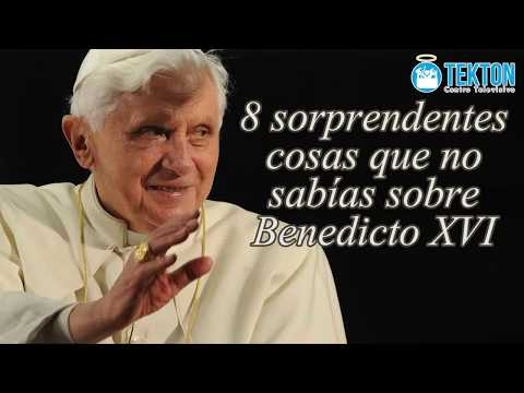 8 cosas que quizá no sabías sobre Benedicto XVI (Joseph Ratzinger)