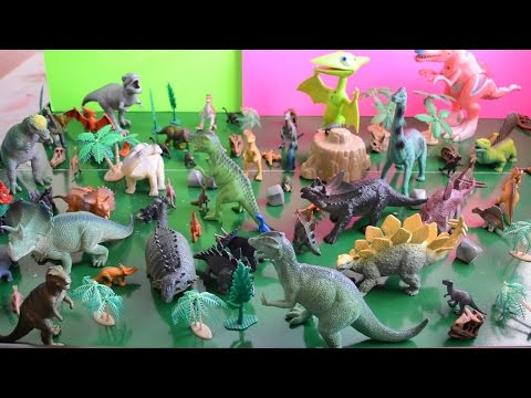 Dinosaur Toy Collection - Dinosaur Train Toys, Safari Ltd., And Other Dinosaur Toys For Children video