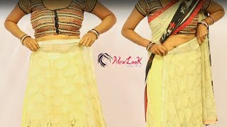 A Simple Step by Step Guide for Wearing a Saree in Short Time Tips