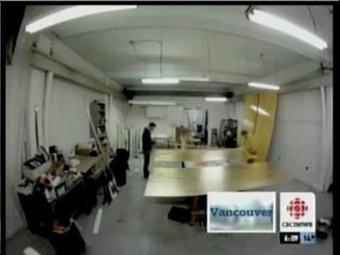 CBC news report - Science World's 22 Karat gold billboard