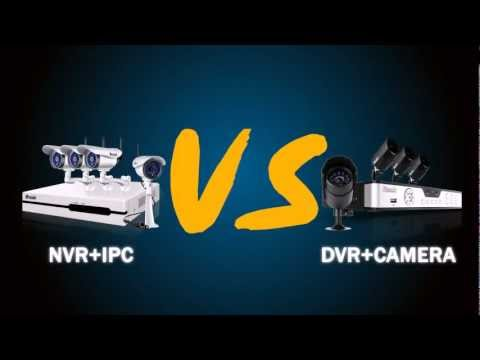CCTV Video Surveillance NVR vs DVR