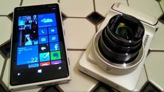 Samsung Galaxy Camera vs Nokia Lumia 920