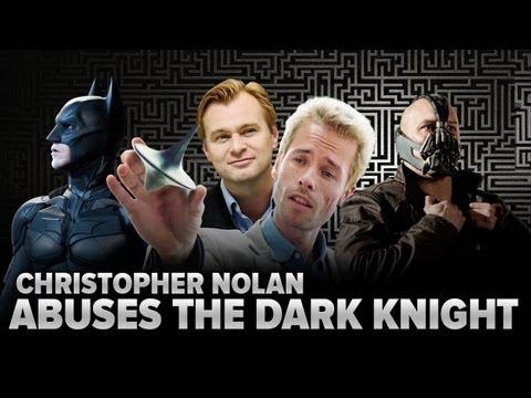 Christopher Nolan Abuses The Dark Knight Rises (Parody)