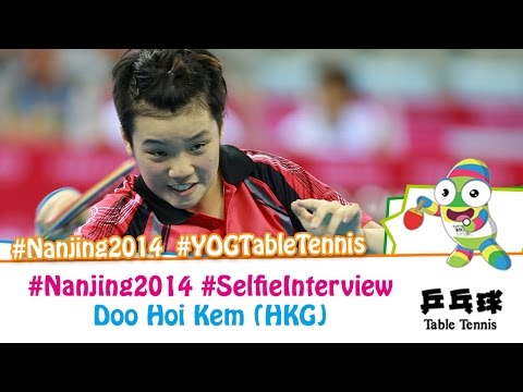 #Nanjing2014 Selfie Interview - Doo Hoi Kem (SF)