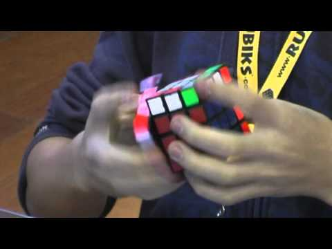 4x4 Rubik's cube former world record: 30.88 seconds Feliks Zemdegs