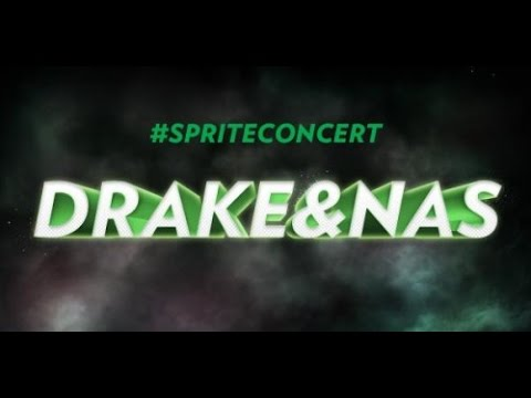 #SPRITECONCERT: DRAKE & NAS AT IRVING PLAZA
