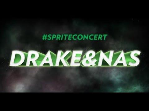 #SPRITECONCERT: DRAKE & NAS AT IRVING PLAZA
