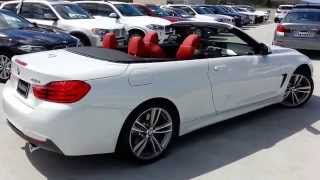 "NEW BMW 435I Convertible M Sport with 19"" M Wheels"