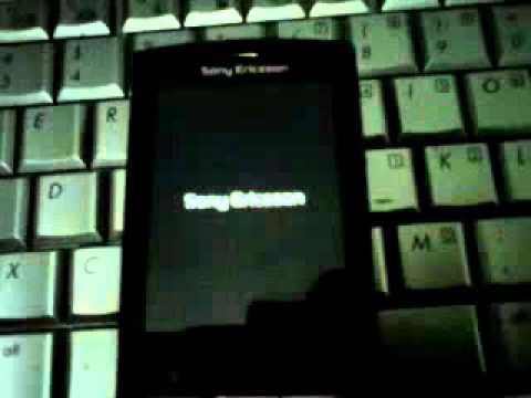 como Instalar Android 2.3.7 en Sony Ericsson Xperia X10 mini pro(SonyStyle)Parte 2