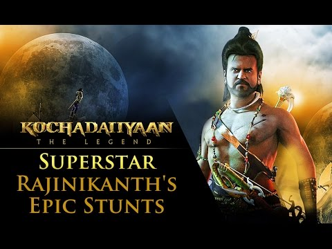 Superstar Rajinikanth's Epic Stunts