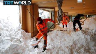 Snow Chaos: Heavy snowfall wreaks havoc across Europe