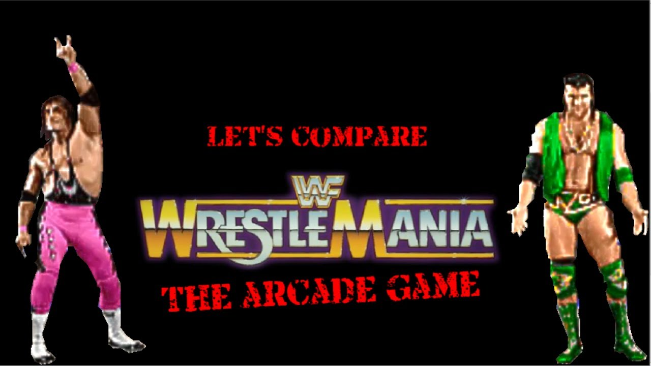 Let S Compare Wwf Wrestlemania The Arcade Game Youtube