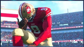 Madden 18 Player Career - Emotional Comeback To Secure A Playoff Spot!!