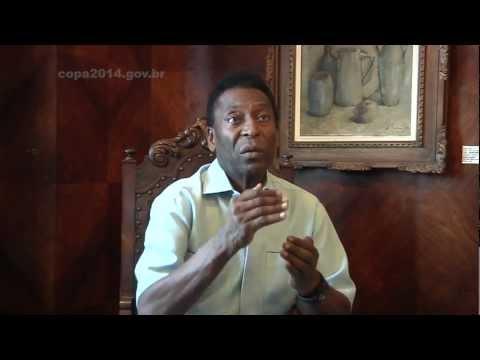 Pelé - Entrevista ao Portal da Copa / Interview