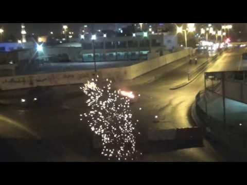 Clashes coincide with the anniversary of the invasion Al-Khalifa to Bahrain