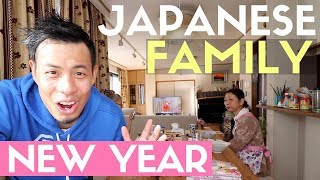 What Inside an Average Japanese Family's Home is like New Year's Holiday