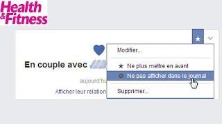 {Top Santé} Pourquoi les couples n'officialisent plus leur relation sur Facebook ?