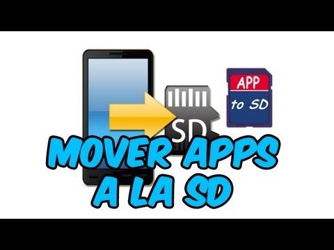 Mover Aplicaciones a la SD en Android