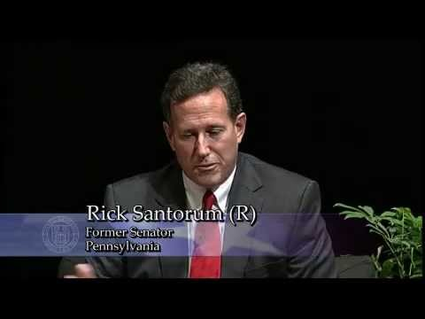 The Great Debate Series: Senator Rick Santorum vs. Governor Howard Dean @ Cornell University