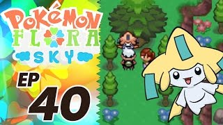 Let's Play Pokemon: Flora Sky - Part 40 - Legendary Beasts & Jirachi
