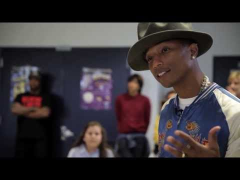 Pharrell Surprises Schoolchildren - Happy Day video