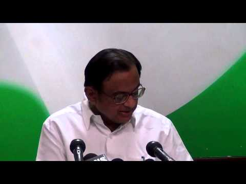 AICC Press Conference addressed by P.Chidambaram | 28 February, 2015