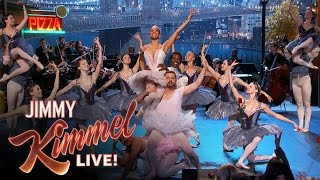 Misty Copeland Gives Jimmy Kimmel and Guillermo a Ballet Lesson