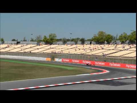 f1 barcelone 2015 essai 1 vendredi tribune H